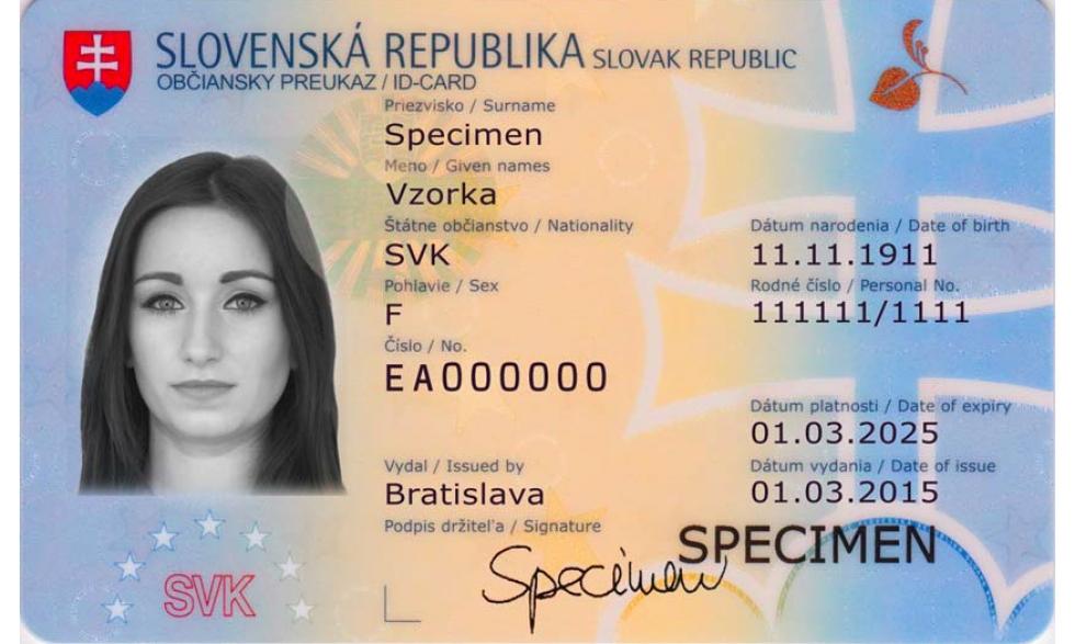 Ilustrační obrázek pro článek Kde sa vybavuje občiansky preukaz a aké sú poplatky?