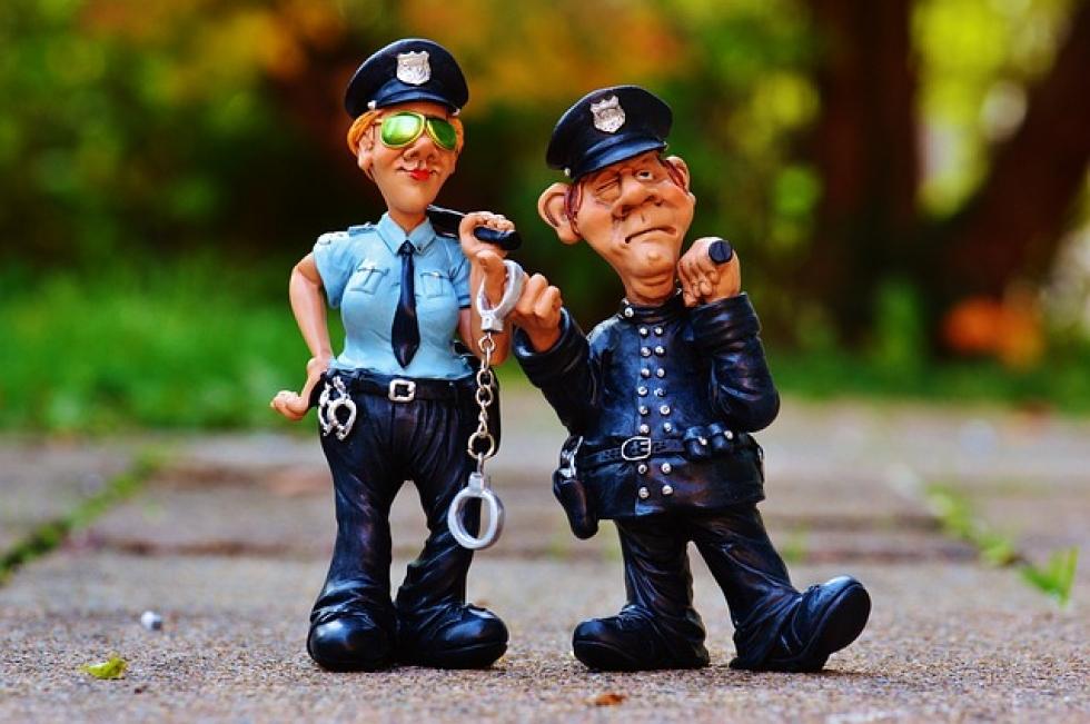 Ilustrační obrázek pro článek Povinnost uposlechnout výzvy policisty nebo strážníka