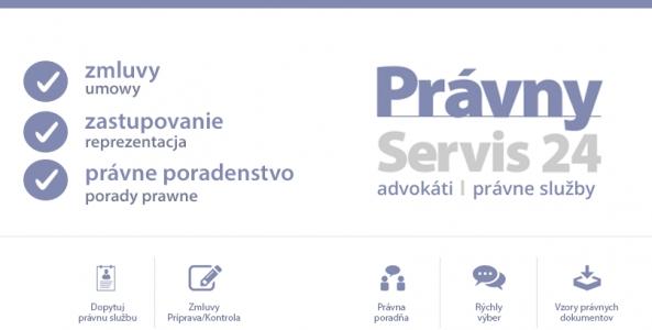 Ilustrační obrázek pro článek Predstavujeme sa: Právny Servis 24 -  Moderné právne služby nielen online.